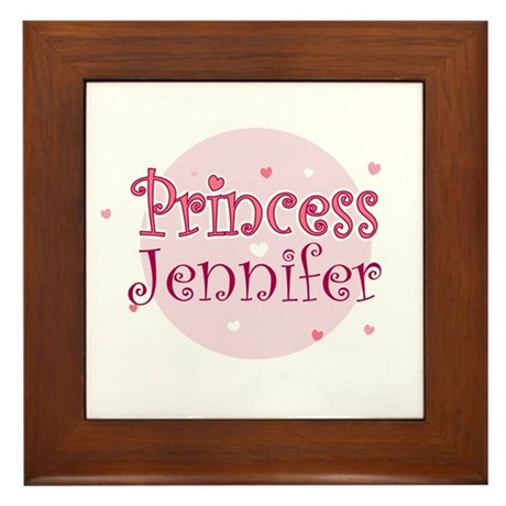 Jennifer Framed Tile