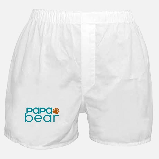 Matching Family - Papa Bear Boxer Shorts