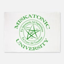 Miskatonic University 5'x7'Area Rug
