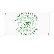 Miskatonic University Banner