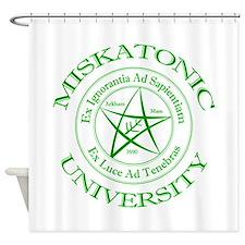Miskatonic University Shower Curtain