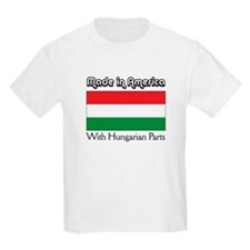 Hungarian Parts Kids T-Shirt