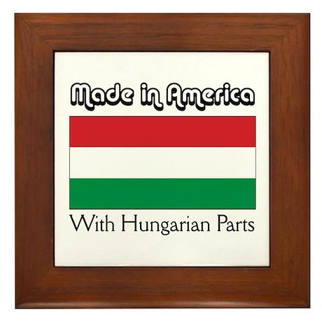 Hungarian Parts Framed Tile