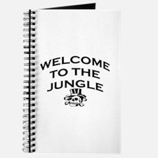 WELCOME TO THE JUNGLE Journal
