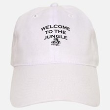 WELCOME TO THE JUNGLE Baseball Baseball Cap