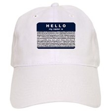 Hello, my name is encrypted. Baseball Cap