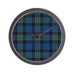 Tartan - Stewart Wall Clock