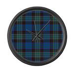 Tartan - Stewart Large Wall Clock