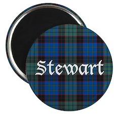 """Tartan - Stewart 2.25"""" Magnet (10 pack)"""