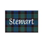 Tartan - Stewart Rectangle Magnet