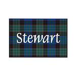 Tartan - Stewart Rectangle Magnet (100 pack)