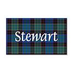 Tartan - Stewart 20x12 Wall Decal