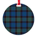 Tartan - Stewart Round Ornament