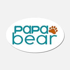 Matching Family - Papa Bear Wall Decal
