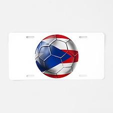 Puerto Rico Football Aluminum License Plate