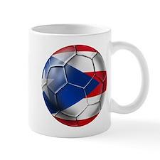 Puerto Rico Football Mug