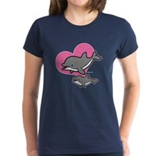 Dolphins (3) Tee