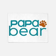 Matching Family - Papa Bear 5'x7'Area Rug