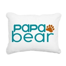 Matching Family - Papa Bear Rectangular Canvas Pil