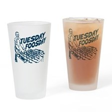 Tuesday Foosday Drinking Glass