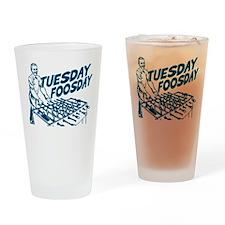 Tuesday Foosday Drinking Glass