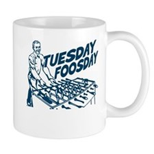 Tuesday Foosday Small Mug