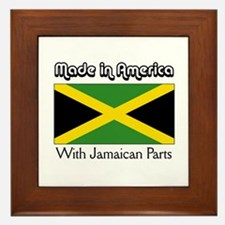 Jamaican Parts Framed Tile