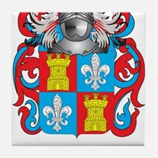 Alonso Coat of Arms Tile Coaster