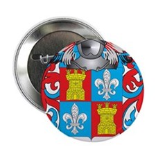 "Alonzo Coat of Arms 2.25"" Button"