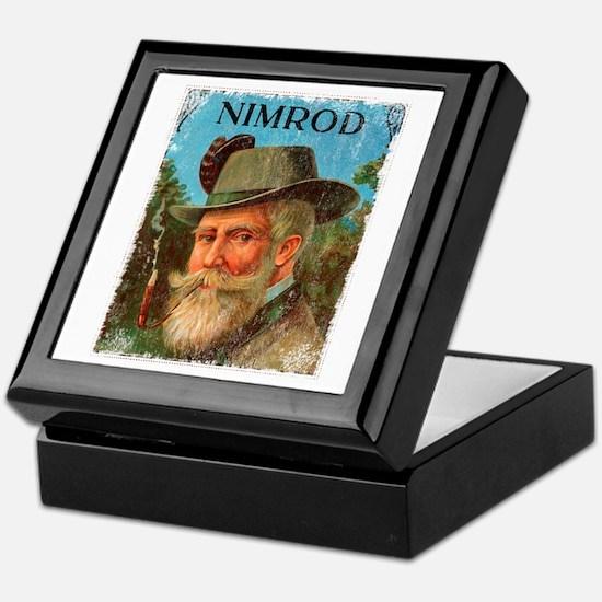 Nimrod Vintage Crate Label Keepsake Box