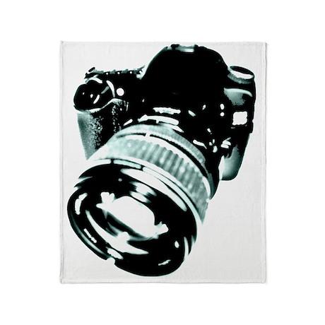 photo camera - vintage look Throw Blanket