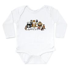 Atlanta Carnivores Long Sleeve Infant Bodysuit
