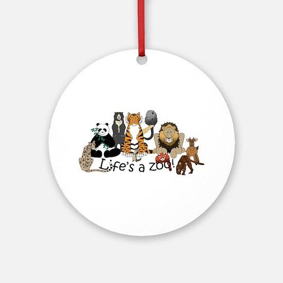 Atlanta Carnivores Ornament (Round)