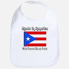 Puerto Rican Parts Bib