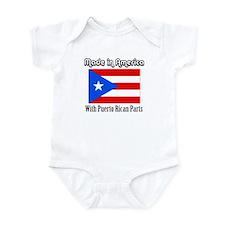 Puerto Rican Parts Onesie