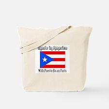 Puerto Rican Parts Tote Bag