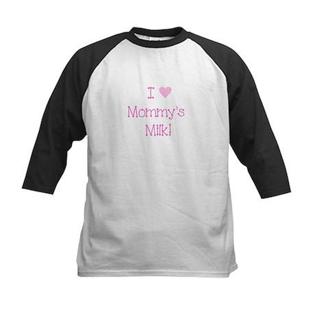 I love mommys milk!-pink Baseball Jersey