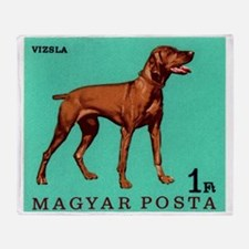 1967 Hungary Vizsla Dog Postage Stamp Throw Blanke
