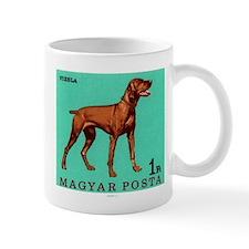 1967 Hungary Vizsla Dog Postage Stamp Small Mug