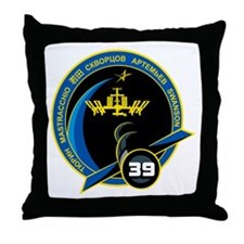 Expedition 39 Throw Pillow