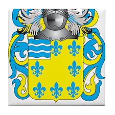 Alvaro Coat of Arms Tile Coaster