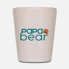 Matching Family - Papa Bear Shot Glass