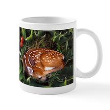Fawn in Holly Mug