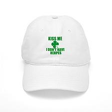 Kiss Me I Don't Have Herpes Baseball Baseball Cap