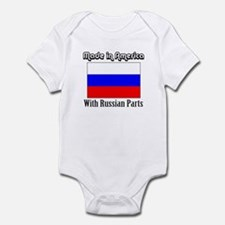Russian Parts Infant Bodysuit