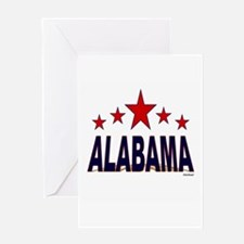 Alabama Greeting Card