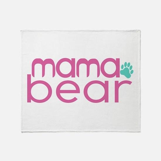 Mama Bear - Family Matching Throw Blanket