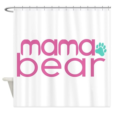 Mama Bear - Family Matching Shower Curtain