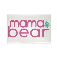 Mama Bear - Family Matching Rectangle Magnet