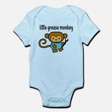 Little Grease Monkey Body Suit